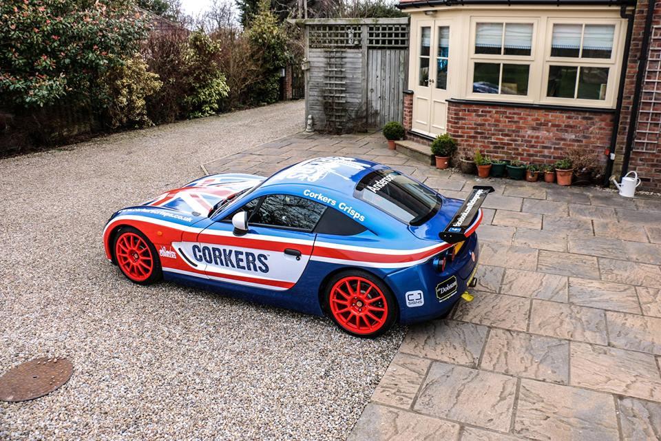 Ginetta Sports Car Wrap