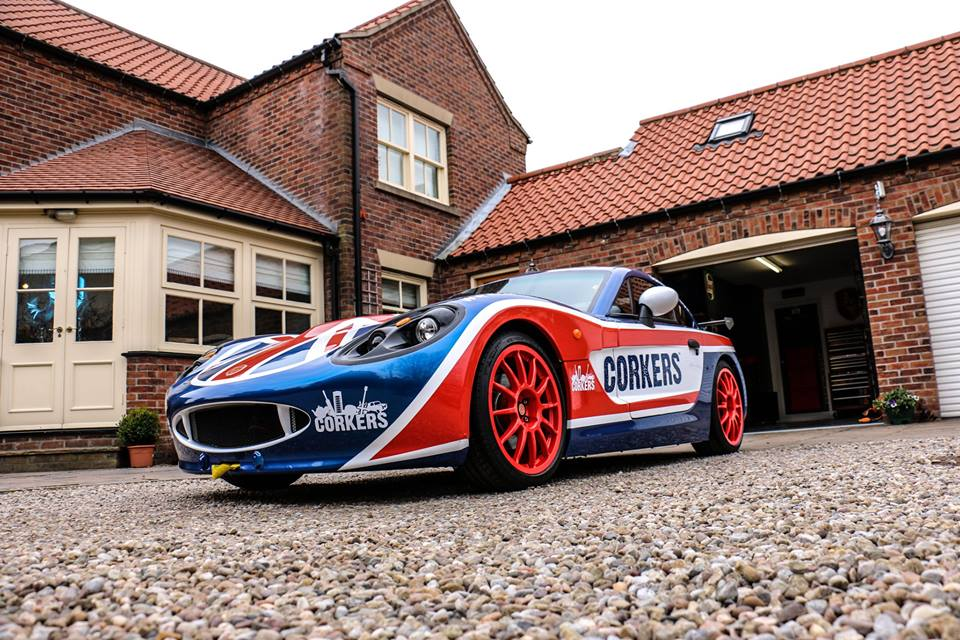 Richard Anderson Ginetta Car Wrap