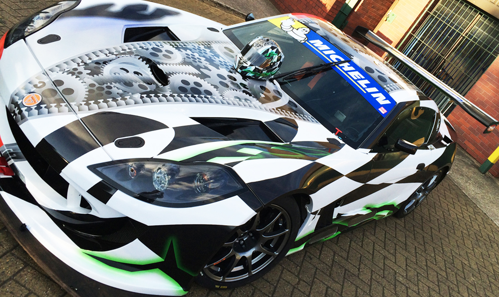 Ginetta G55 Racing Car Wrap